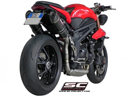 Oval High Mount Exhaust by SC-Project