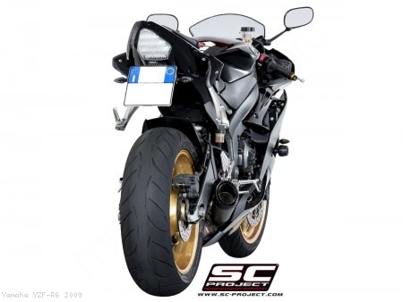 S1 Low Mount Exhaust by SC-Project Yamaha / YZF-R6 / 2009