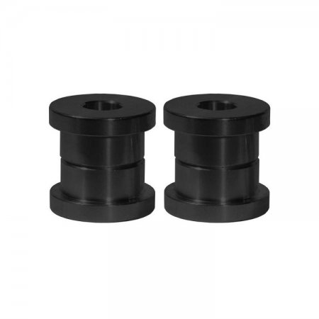Black Standard Solid Riser Bushing Kit by Speed Merchant