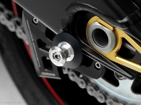 Rizoma M8 Swingarm Spool Sliders Triumph / Street Triple R / 2013