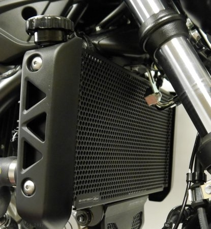 Radiator Guard by Evotech Performance Suzuki / SV650 / 2017