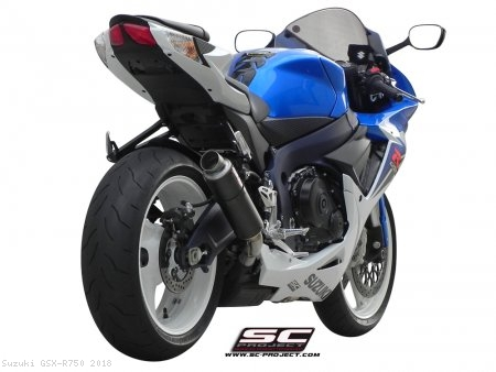 GP M2 Exhaust by SC-Project Suzuki / GSX-R750 / 2018