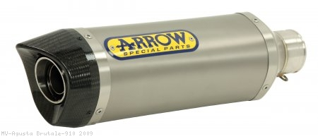 Arrow Thunder Low Mount Exhaust System MV Agusta / Brutale 910 / 2009