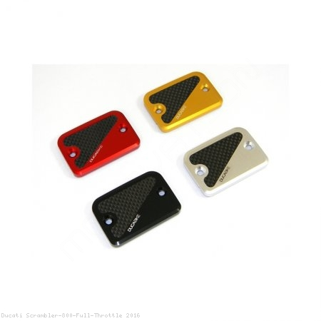 Carbon Inlay Front Brake Fluid Tank Cap by Ducabike Ducati / Scrambler 800 Full Throttle / 2016