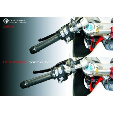 Adjustable Clipon Bar Tube Set by Ducabike
