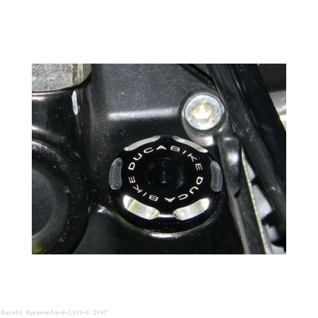 Engine Oil Filler Cap by Ducabike Ducati / Hypermotard 1100 S / 2007