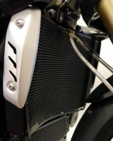 Radiator and Oil Cooler Guard by Evotech Performance Triumph / Speed Triple RS / 2019