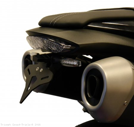 Tail Tidy Fender Eliminator by Evotech Performance Triumph / Speed Triple R / 2016