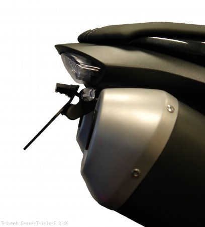 Tail Tidy Fender Eliminator by Evotech Performance Triumph / Speed Triple S / 2016