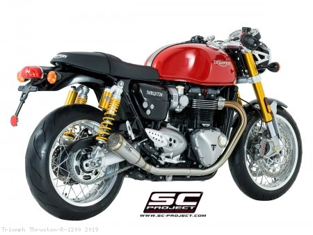 "Conic ""70s Style"" Exhaust by SC-Project Triumph / Thruxton R 1200 / 2019"