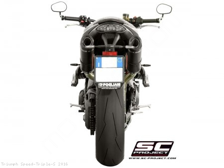 GP-Tech Exhaust by SC-Project Triumph / Speed Triple S / 2016