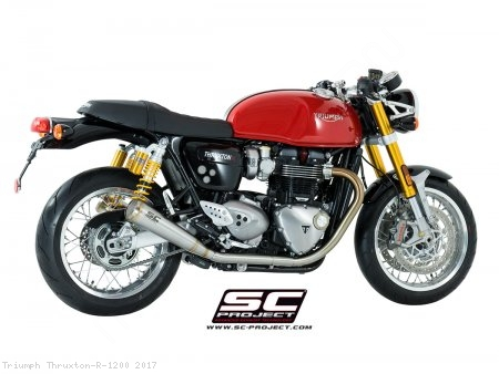 "Conic ""70s Style"" Exhaust by SC-Project Triumph / Thruxton R 1200 / 2017"