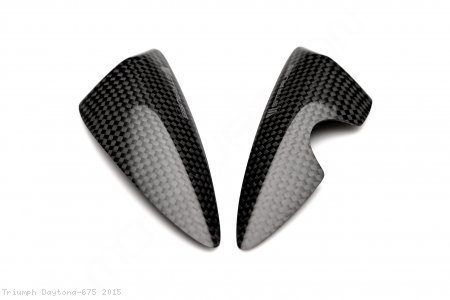 Carbon Fiber Street Version Tail Slider Kit by Strauss Carbon Triumph / Daytona 675 / 2015