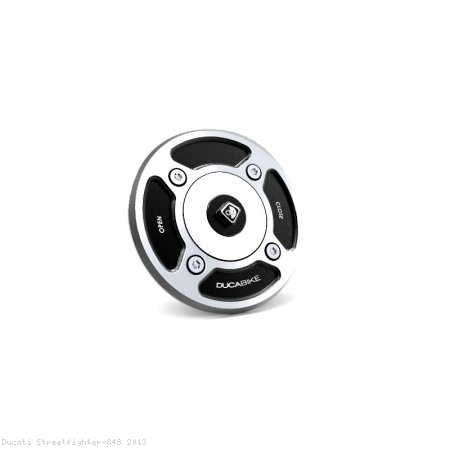 Fuel Tank Gas Cap by Ducabike Ducati / Streetfighter 848 / 2013