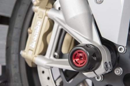 GTA Front Fork Axle Sliders by Gilles Tooling BMW / S1000RR / 2009