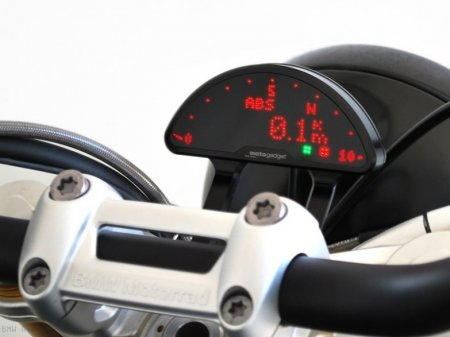 Motoscope Pro Plug-n-Play Gauge Kit with Bracket by Motogadget BMW / R nineT / 2016