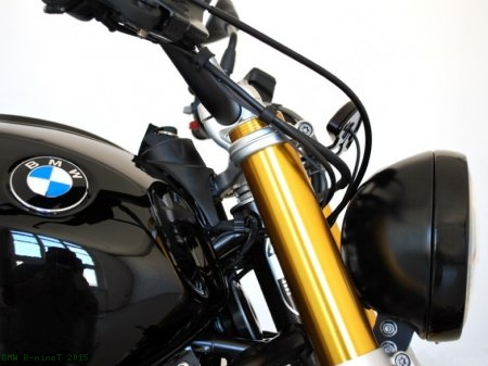 Motoscope Pro Plug-n-Play Gauge Kit with Bracket by Motogadget BMW / R nineT / 2015