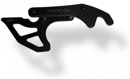 Carbon Fiber GP Style Toe Guard with Paddock Stand Hooks