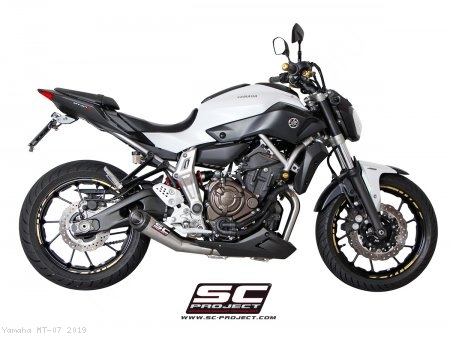 Conic Exhaust by SC-Project Yamaha / MT-07 / 2019