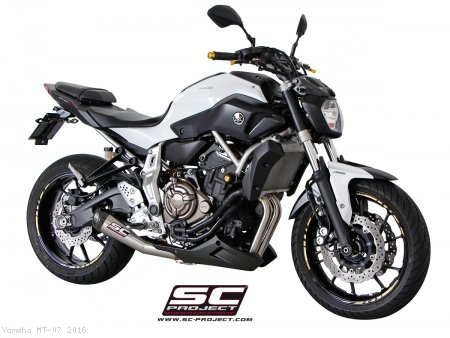 Conic Exhaust by SC-Project Yamaha / MT-07 / 2016