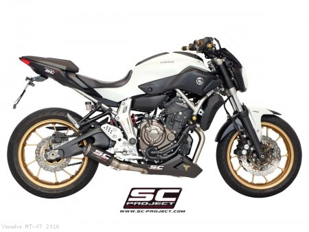 CR-T Exhaust by SC-Project Yamaha / MT-07 / 2016