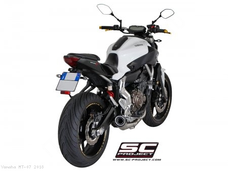 Conic Exhaust by SC-Project Yamaha / MT-07 / 2018