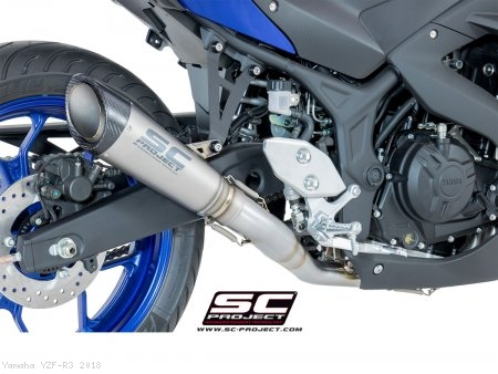 S1 Exhaust by SC-Project Yamaha / YZF-R3 / 2018
