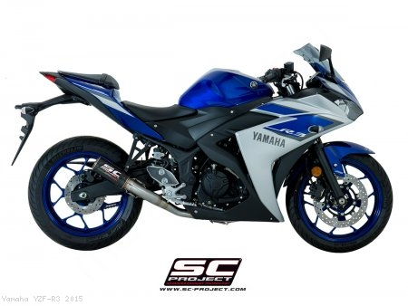 CR-T Exhaust by SC-Project Yamaha / YZF-R3 / 2015