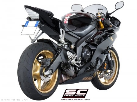 S1 Low Mount Exhaust by SC-Project Yamaha / YZF-R6 / 2016