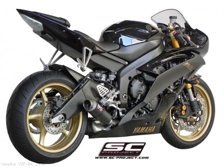 GP-M2 Exhaust by SC-Project Yamaha / YZF-R6 / 2006