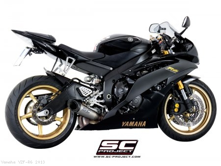 S1 Low Mount Exhaust by SC-Project Yamaha / YZF-R6 / 2013