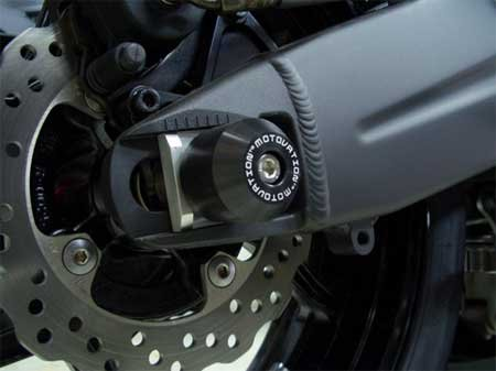 Rear Axle Sliders by Motovation Accessories