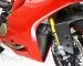 Titanium Lower Oil Cooler Guard by MotoCorse Ducati / 1199 Panigale / 2014