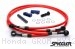 Stainless Steel Premium Front and Rear Brake Line Kit by Spiegler Honda / GROM MX125 / 2015