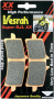 Vesrah RJL XX High-Performance Race Front Brake Pads Aprilia / RSV4 R / 2015