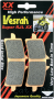 Vesrah RJL XX High-Performance Race Front Brake Pads Ducati / Diavel / 2013