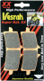 Vesrah RJL XX High-Performance Race Front Brake Pads Triumph / Daytona 675R / 2014