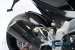 Carbon Fiber Rear Hugger by Ilmberger Carbon Aprilia / Tuono V4 1100 Factory / 2017