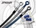 Stainless Steel Premium Front and Rear Brake Line Kit by Spiegler Honda / GROM MX125 / 2014