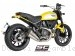 Conic Twin Exhaust by SC-Project Ducati / Scrambler 800 Full Throttle / 2016
