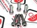 Dry Clutch 6 Piece Spring Bolt Kit by Ducabike Ducati / Hypermotard 1100 EVO SP / 2010