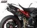 Oval High Mount Exhaust by SC-Project Triumph / Speed Triple R / 2012