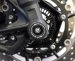 Front Fork Axle Sliders by Evotech Performance Yamaha / FZ-09 / 2013